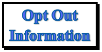 Testing opt out information